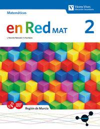 ESO 2 - MAT MATEMATICAS (MUR) - EN RED