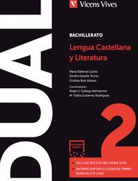 BACH 2 - LENGUA Y LITERATURA (CAT) - DUAL (DIGITAL+LIBRO+CUAD)
