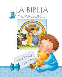La biblia y oraciones - Aa. Vv.