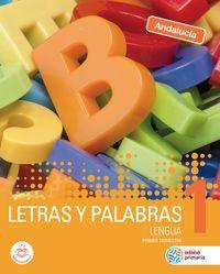 EP 1 - LENGUA - LETRAS Y PALABRAS (AND)
