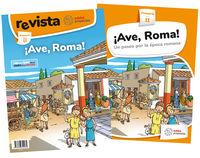 EP 2 - C. SOCIALES ¡AVE, ROMA! - UN PASEO POR LA EPOCA ROMANA (PROYECTOS)