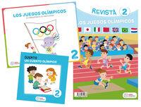 4 AÑOS - LOS JUEGOS OLIMPICOS - ¡LO IMPORTANTE ES PARTICIPAR! (PROYECTOS)