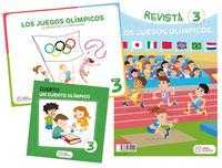 5 AÑOS - LOS JUEGOS OLIMPICOS - ¡LO IMPORTANTE ES PARTICIPAR! (PROYECTOS)