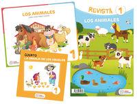 3 AÑOS - LOS ANIMALES - ¡UNA CASA PARA TODOS! (PROYECTOS)