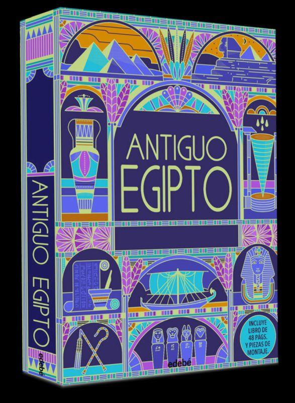 ANTIGUO EGIPTO - COFRE DEL TESORO