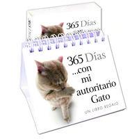 Calendario - 365 Dias Con Mi Autoritario Gato - Aa. Vv.
