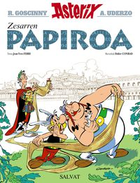 Asterix - Zesarren Papiroa - Rene Goscinny / Albert Uderzo (il. ) / Jean-Yves Ferri / Didier Conrad (il. )