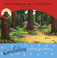 Grufaloa (txotxongilo-Liburua) - Julia Donaldson / Axel Scheffler (il. )