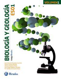 Eso 1 - Biologia Y Geologia (trim. ) - Codigo Bruño - Aa. Vv.