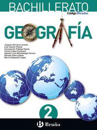 BACH 2 - GEOGRAFIA - CODIGO BRUÑO (PV, NAV, LRIO, C. VAL, MAD, AND, ARA, AST, CAN, CANT, CYL, CLM, CEU, EXT, GAL, MEL, MUR)