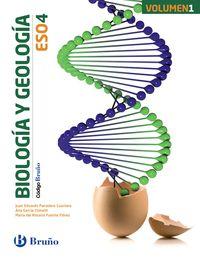 Eso 4 - Biologia Y Geologia (trim. ) - Codigo Bruño (pv, Nav, Lrio, C. Val, Mad, Ara, Ast, Can, Cant, Cyl, Clm, Ceu, Ext, Mel, Mur) - Aa. Vv.