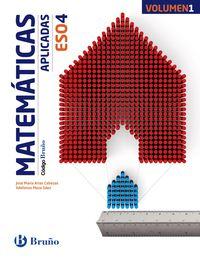 ESO 4 - MATEMATICAS (APLICADAS) (TRIM. ) - CODIGO BRUÑO (PV, NAV, LRIO, C. VAL, MAD, ARA, AST, CAN, CANT, CYL, CLM, CEU, EXT, GAL, MEL, MUR)