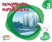 5 AÑOS - NIVEL 3 - QUIERO APRENDER - FENOMENOS DE LA NATURALEZA