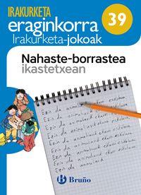 LH 1 / 2 - NAHASTE-BORRASTEA IKASTETXEAN - IRAKURKETA JOKOA
