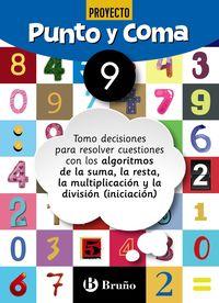 Ep - Matematicas - Punto Y Coma 9 - Aa. Vv.