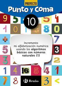 Ep - Matematicas - Punto Y Coma 10 - Aa. Vv.