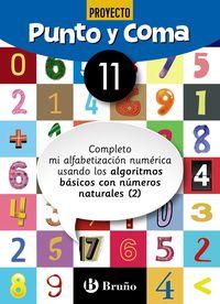 EP - MATEMATICAS - PUNTO Y COMA 11