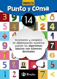 Ep - Matematicas - Punto Y Coma 14 - Aa. Vv.