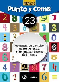 EP - MATEMATICAS - PUNTO Y COMA 23