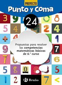 EP - MATEMATICAS - PUNTO Y COMA 24