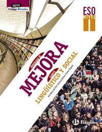 ESO 2 - PROGRAMA MEJORA AMBITO LINGUISTICO Y SOCIAL I - NUEVO COGIDO