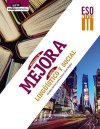 ESO 3 - PROGRAMA MEJORA AMBITO LINGUISTICO Y SOCIAL I - NUEVO COGIDO