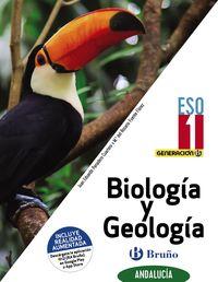 ESO 1 - BIOLOGIA Y GEOLOGIA (COLEG BILLINGUES) (AND) - GENERACION B