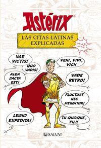 Asterix - Las Citas Latinas Explicadas - De La A A La Z - Bernard-Pierre Molin / Rene Goscinny / Albert Uderzo (il. )