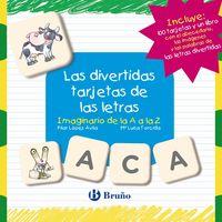 Divertidas Tarjetas De Las Letras, Las - Imaginario De La A A La Z - Pilar Lopez Avila