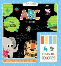 Abc - Las Letras - Libro-Pizarra - Martina Hogan
