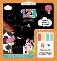 123 - Los Numeros - Libro-Pizarra - Martina Hogan