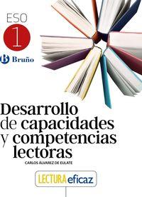 ESO 1 - DESARROLLO CAPACIDADES Y COMPETENCIAS LECTORAS