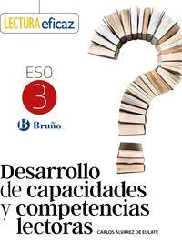 ESO 3 - DESARROLLO CAPACIDADES Y COMPETENCIAS LECTORAS