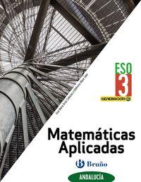 ESO 3 - MATEMATICAS APLICADAS (AND) (COLEG BILINGUES) - GENERACION B