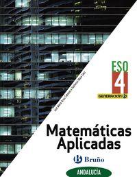 ESO 4 - MATEMATICAS APLICADAS (AND) - GENERACION B (CENTROS BILINGUES)