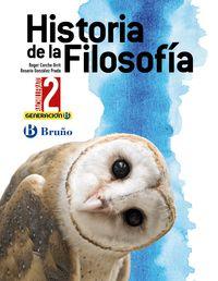 BACH 2 - HISTORIA DE LA FILOSOFIA - GENERACION B