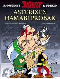 asterixen hamabi probak (berritua) - Rene Goscinny / Albert Uderzo (il. )