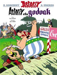 asterix eta godoak - Rene Goscinny / Albert Uderzo (il. )