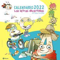 CALENDARIO 2022 - LAS LETRAS DIVERTIDAS