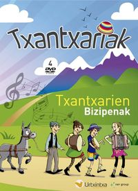 (4 DVD) TXANTXARIAK * TXANTXARIAK BASOAN