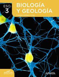 ESO 3 - BIOLOGIA Y GEOLOGIA (CANT, CLM) - APRENDER ES CRECER - INNOVA