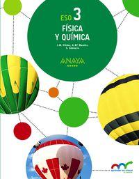 Eso 3 - Fisica Y Quimica - Apre. Crec. Conex. (mur) - Jose Miguel Vilchez Gonzalez / Ana Maria Morales Cas / Sabino Zubiaurre Cortes