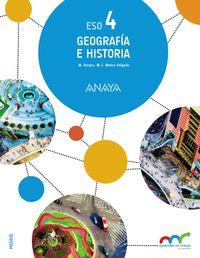 Eso 4 - Geografia E Historia (trim. ) - Apre. Crec. Conex. (mad) - Aa. Vv.