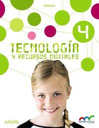 EP 4 - TECNOLOGIA Y RECURSOS DIGITALES - APRE. CREC. CONEX. (MAD)