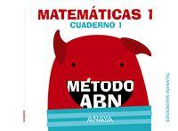 3 AÑOS - MATEMATICAS ABN - NIVEL 1 CUAD. 1