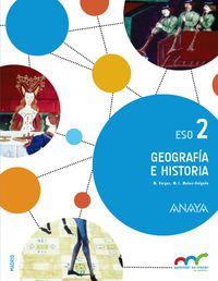 ESO 2 - GEOGRAFIA E HISTORIA (TRIM. ) - APRE. CREC. CONEX. (MAD)