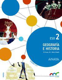 ESO 2 - GEOGRAFIA E HISTORIA (TRIM. ) - APRE. CREC. CONEX. (MUR)