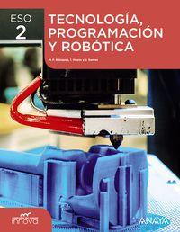 ESO 2 - TECNOLOGIA, PROGRAMACION Y ROBOTICA - APRE. CREC. INNOVA (MAD)