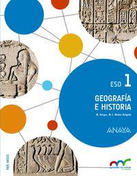 eso 1 - geografia e historia (pv) - apren. crec. conexion - Aa. Vv.