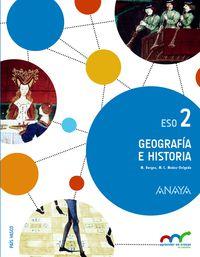 eso 2 - geografia e historia (pv) - apren. crec. conexion - Aa. Vv.